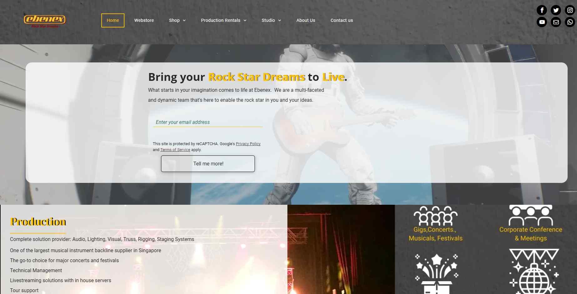 ebenex Top Music Stores in Singapore