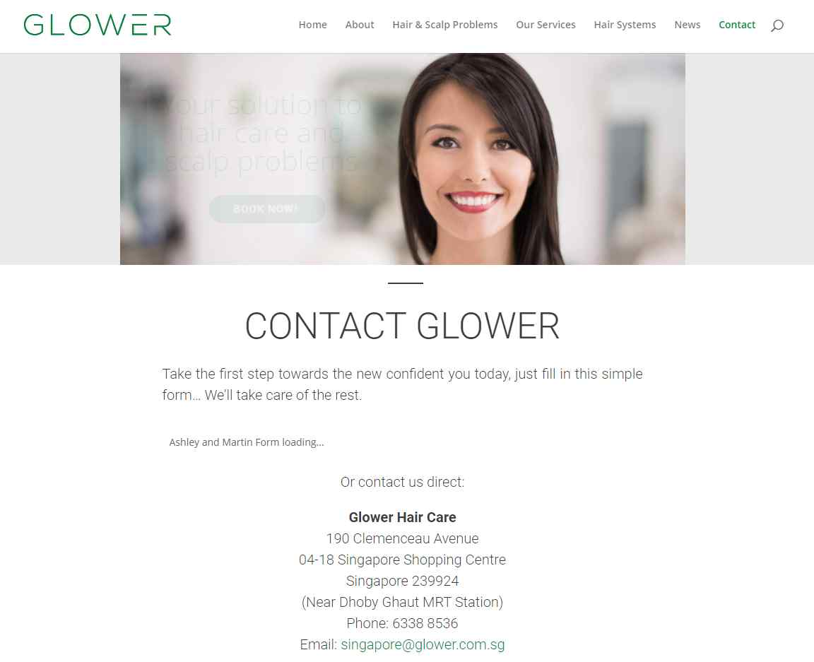 glower Top Trichologists in Singapore