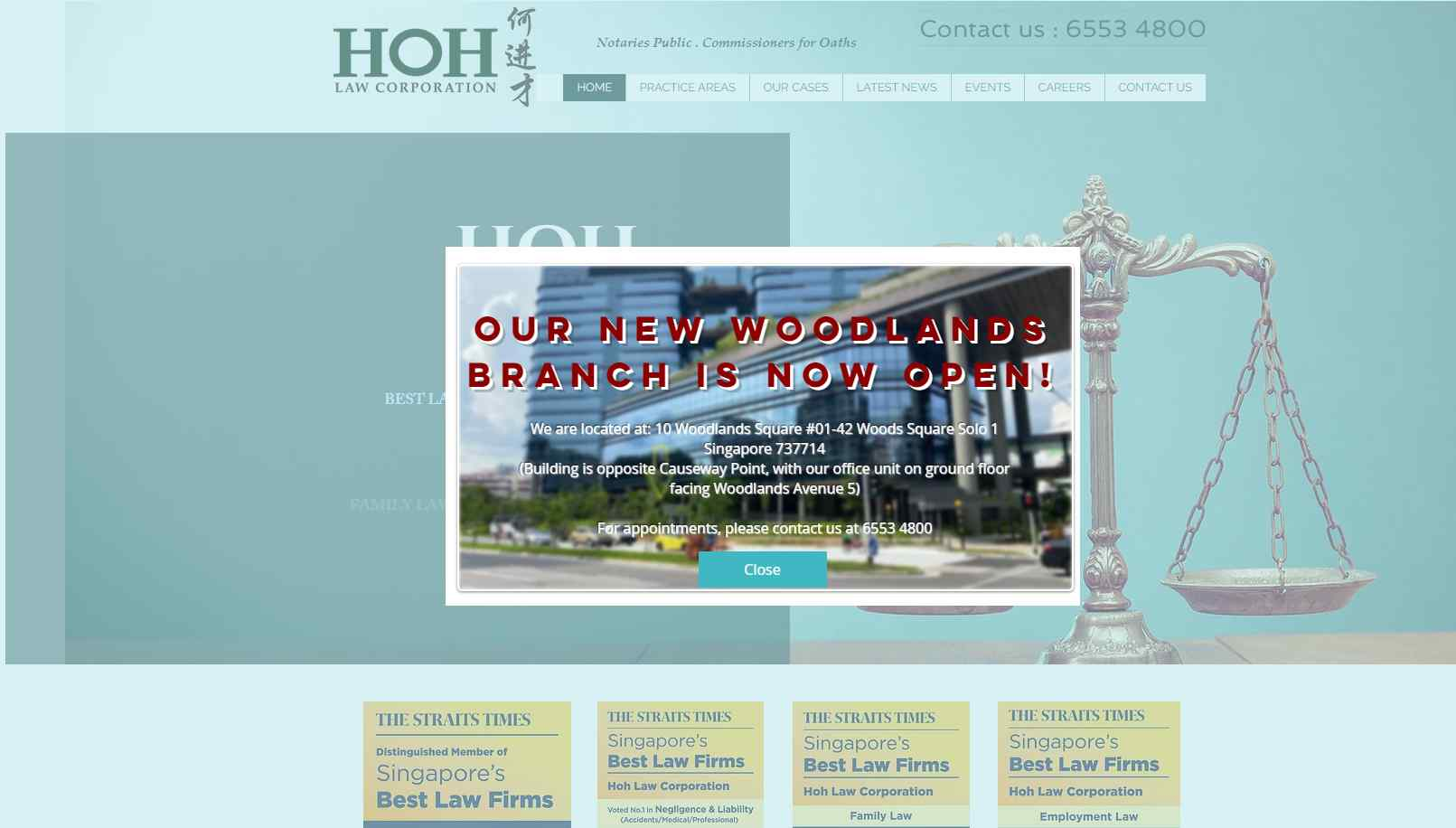 hoh Top Divorce Lawyers in Singapore