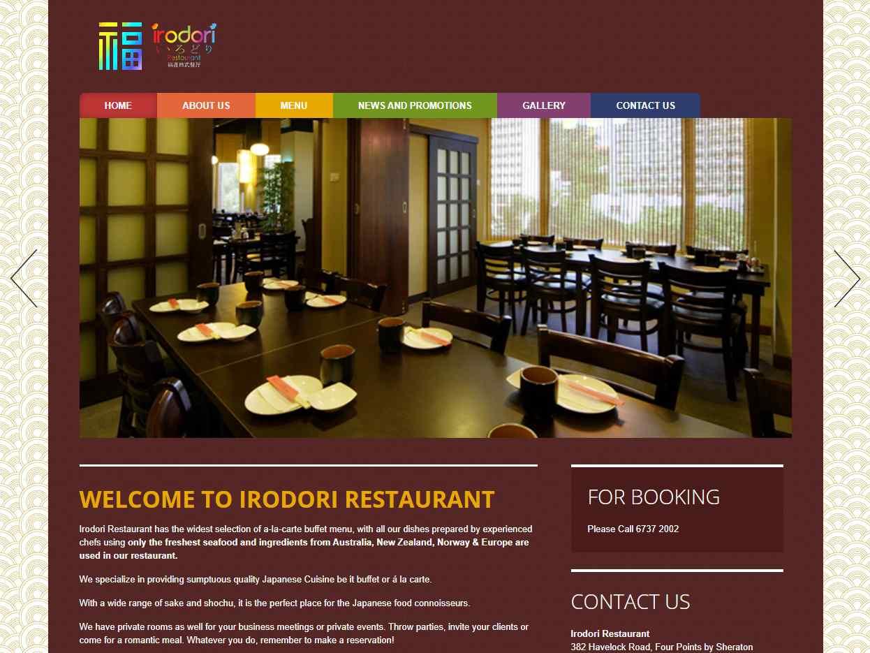 irodori Top Japanese Buffets in Singapore