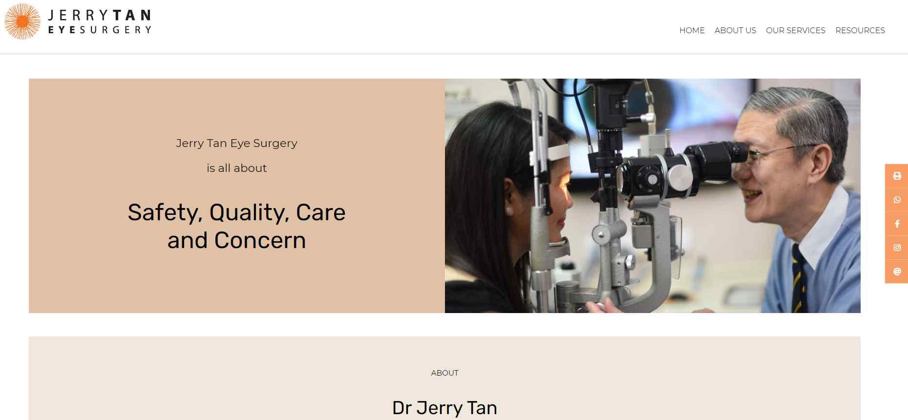 jerry tan Top Ptosis Surgery Clinics in Singapore