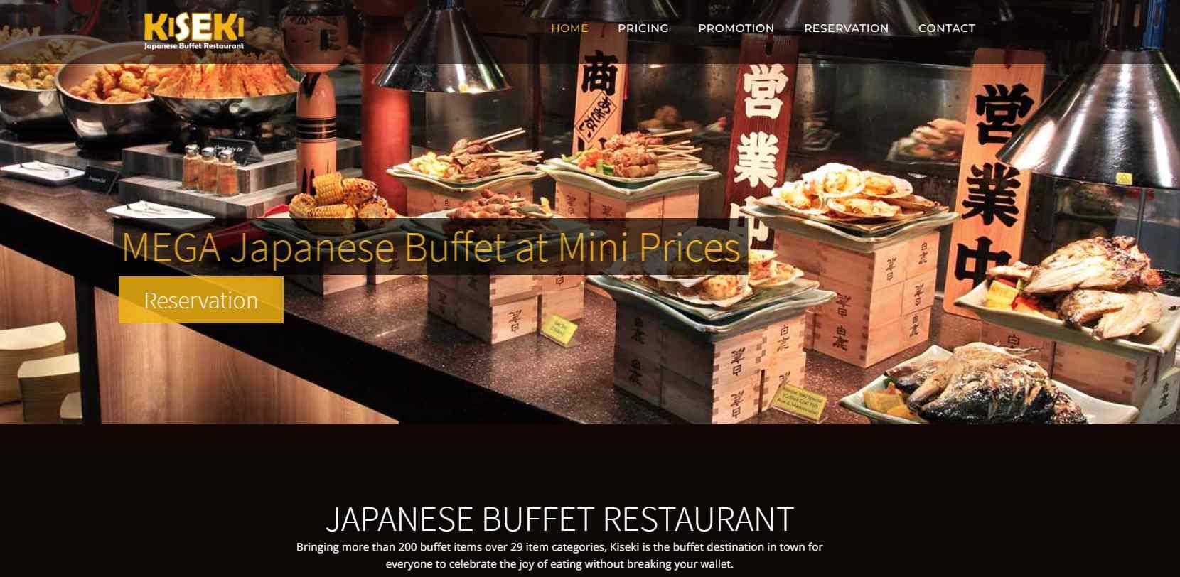 kiseki Top Japanese Buffets in Singapore