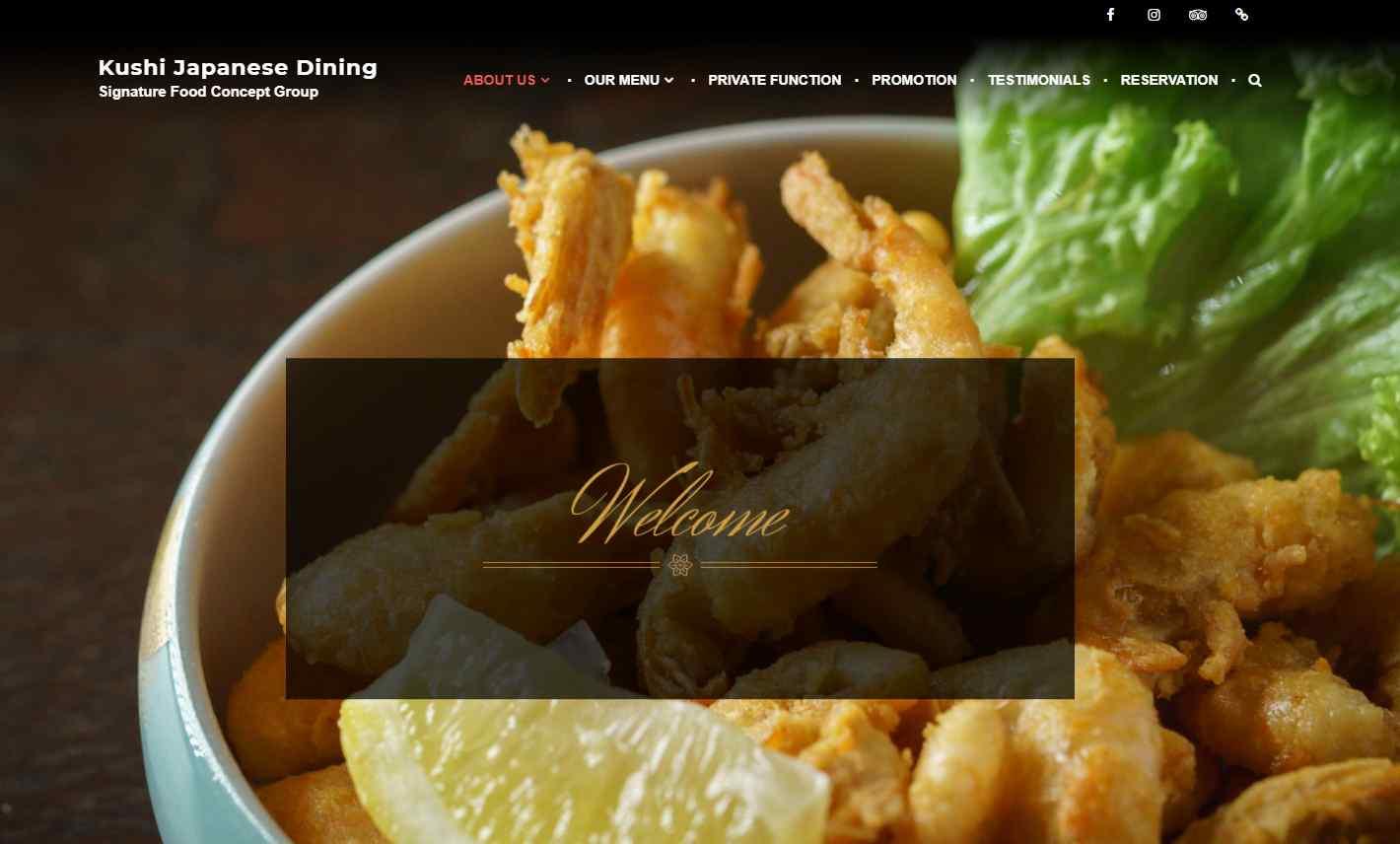 kushi dining Top Japanese Buffets in Singapore