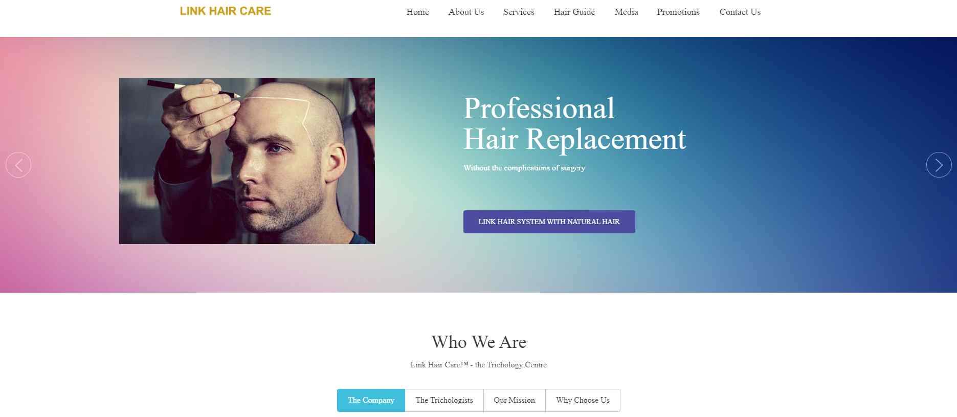link hair Top Trichologists in Singapore