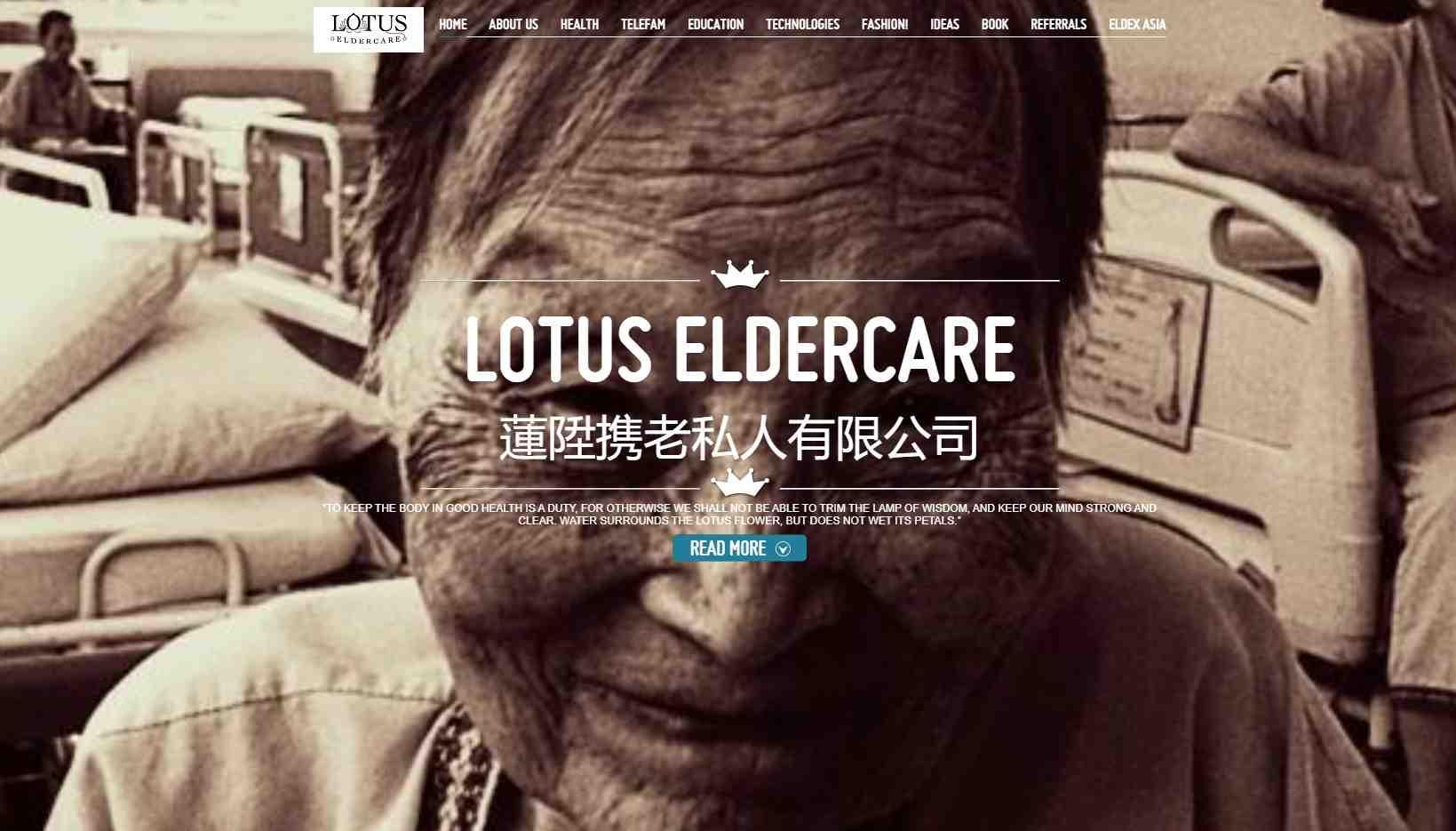 lotus elder care Top Gerontologists in Singapore