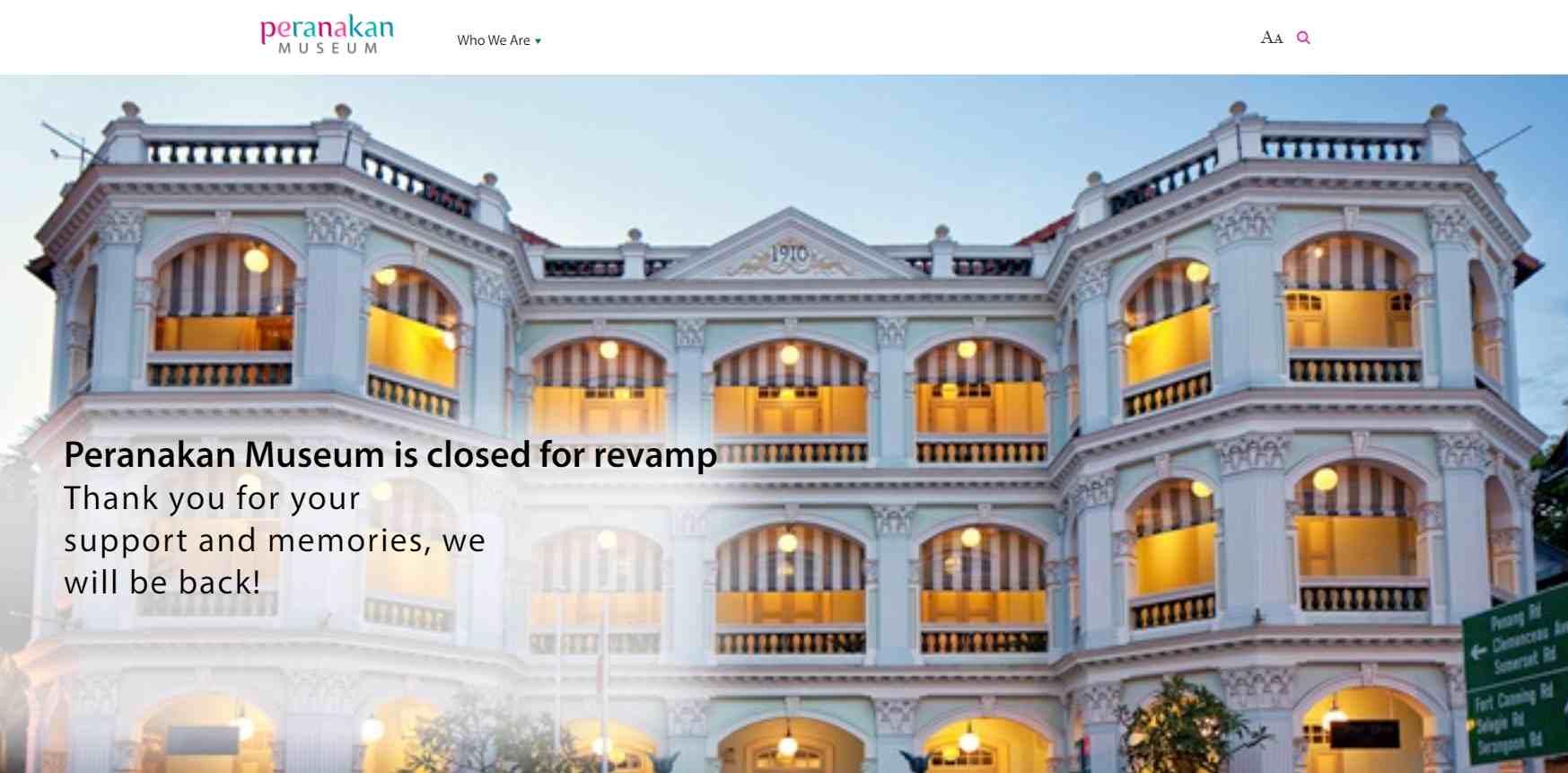 peranakan Top Museums in Singapore