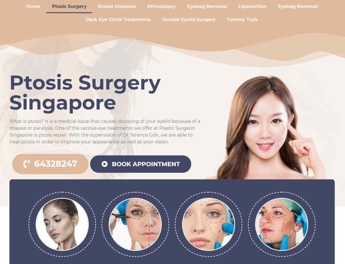 plastic surgeon sg Top Ptosis Surgery Clinics in Singapore