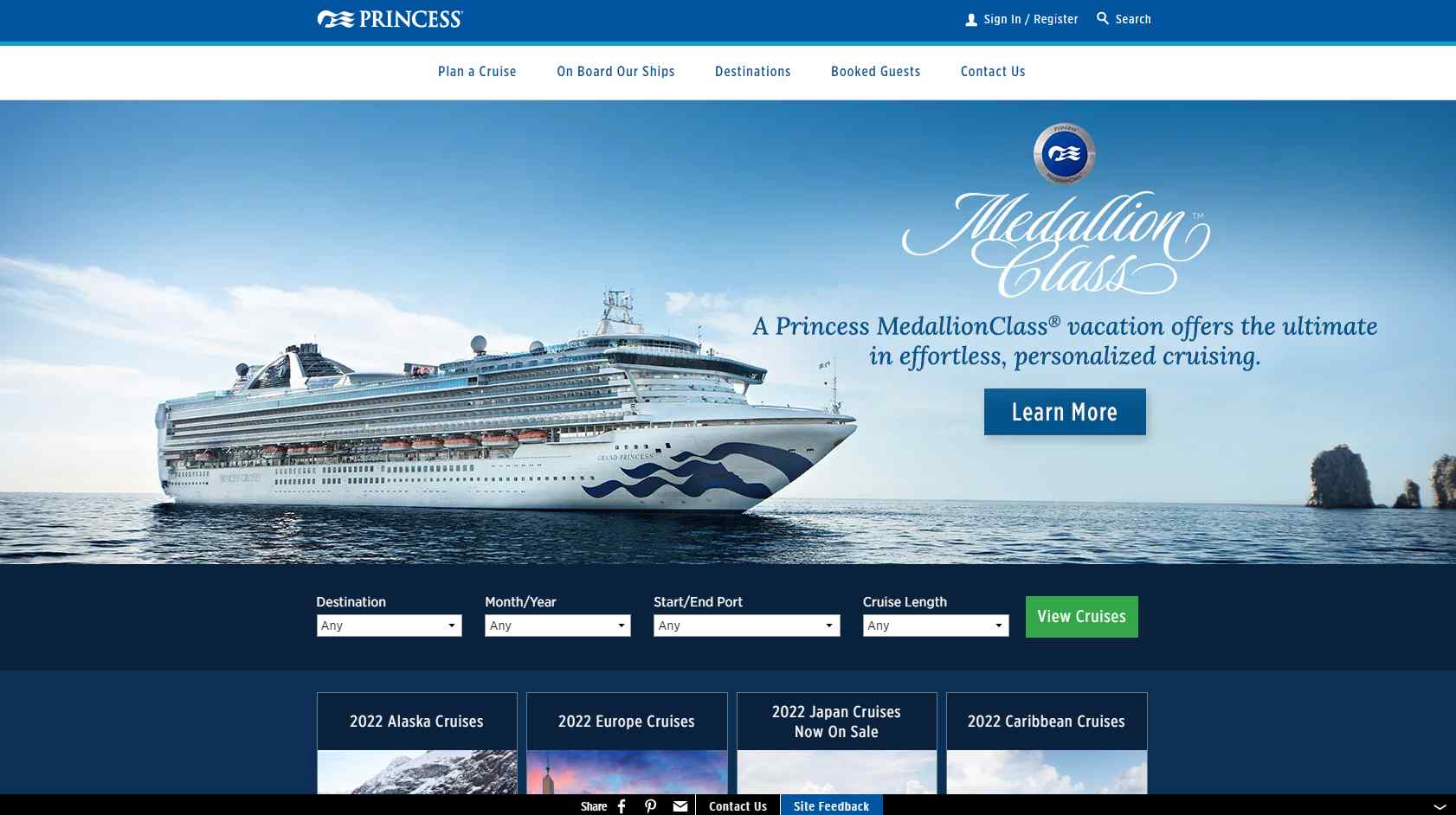 princess Top Cruise Operators in Singapore