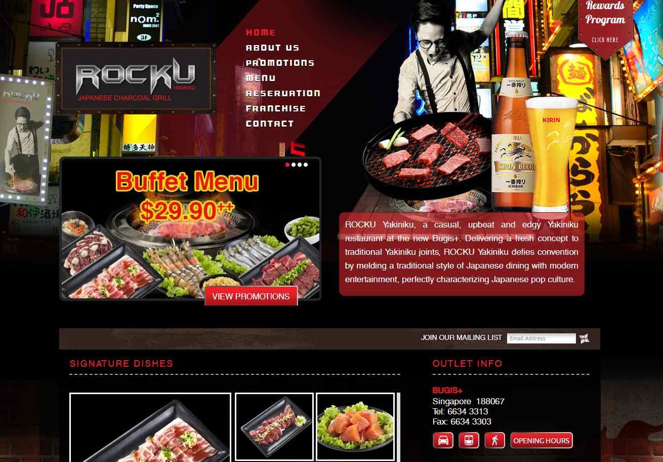 rocku Top Japanese Buffets in Singapore