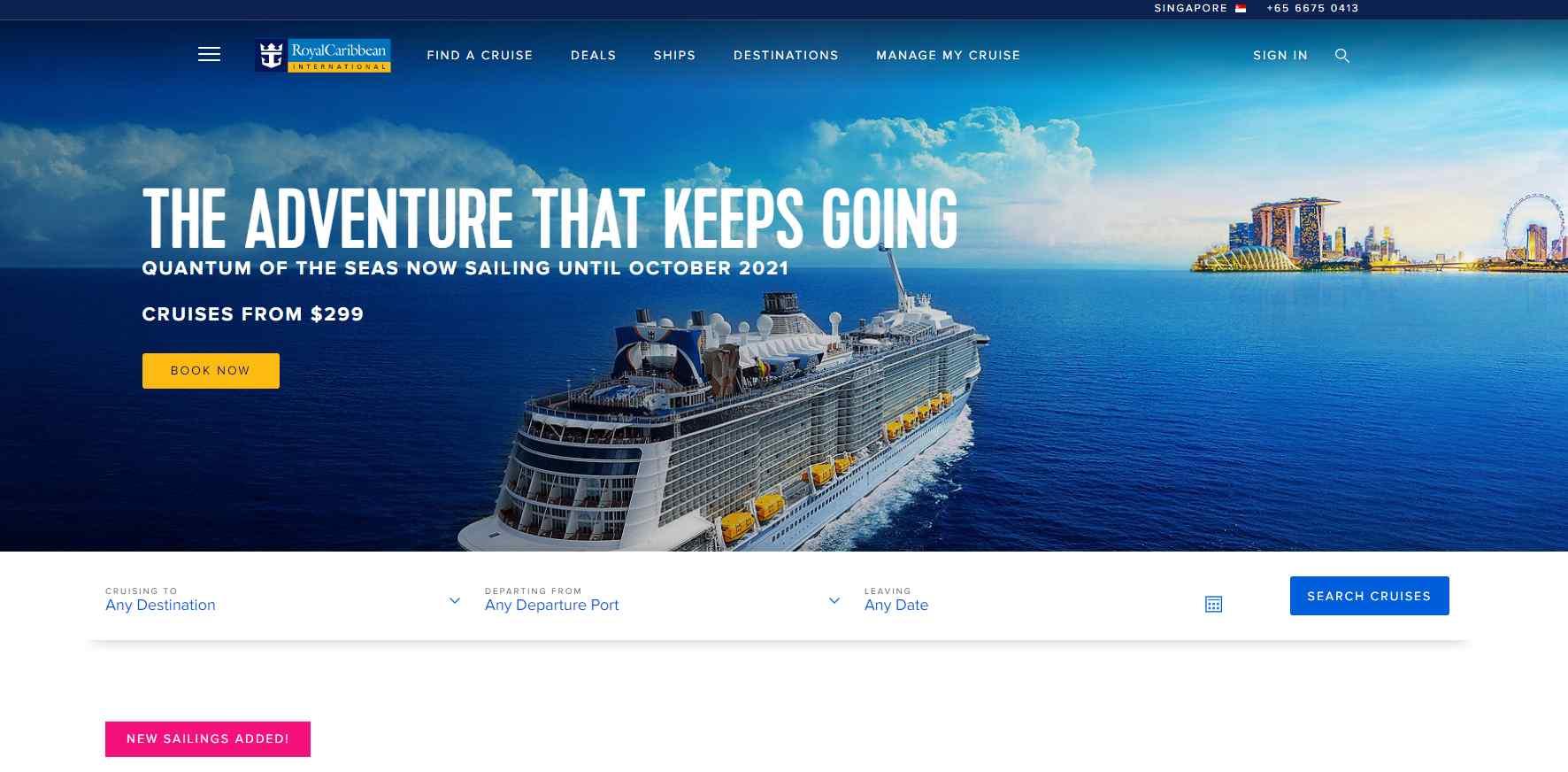 royal caribbean Top Cruise Operators in Singapore