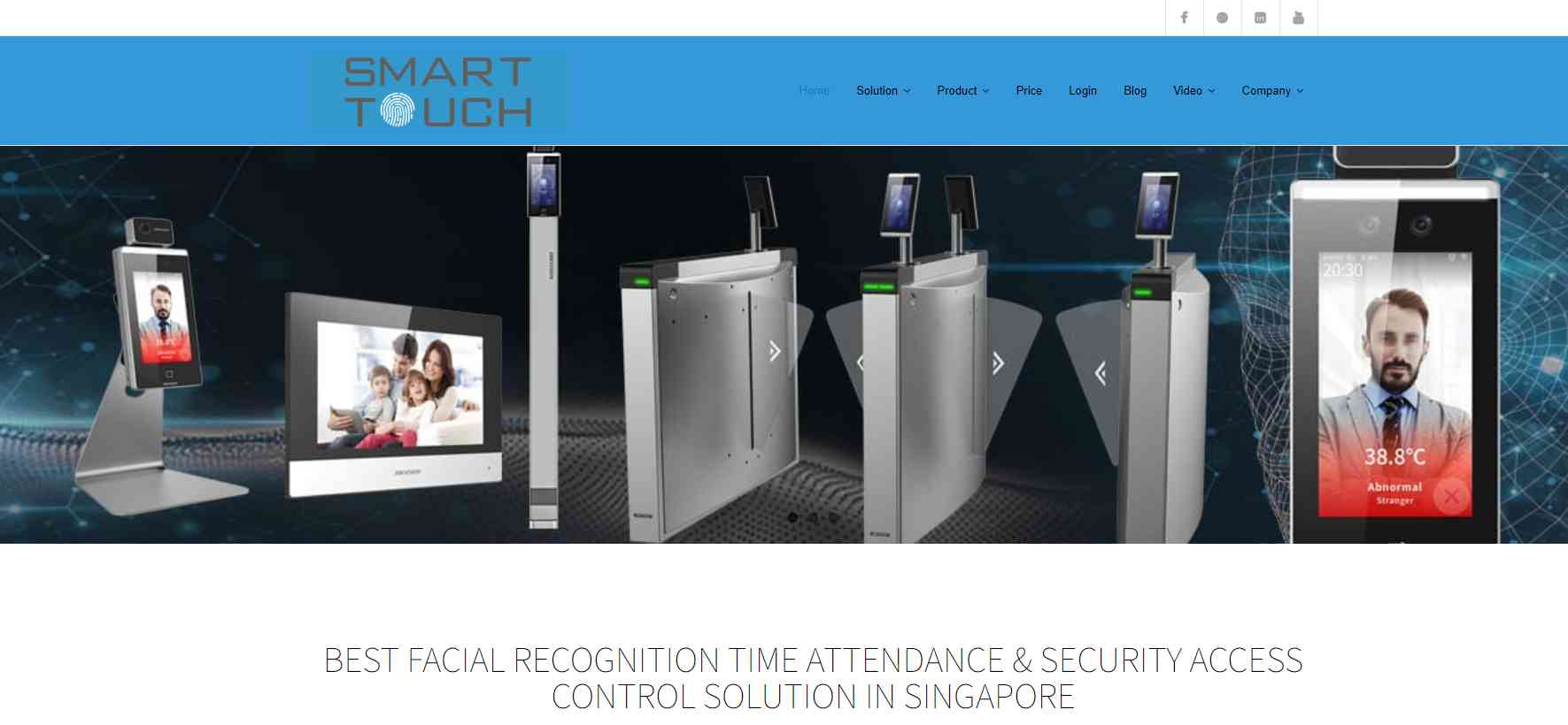 smart touch Top Barcode Scanner Retailers in Singapore