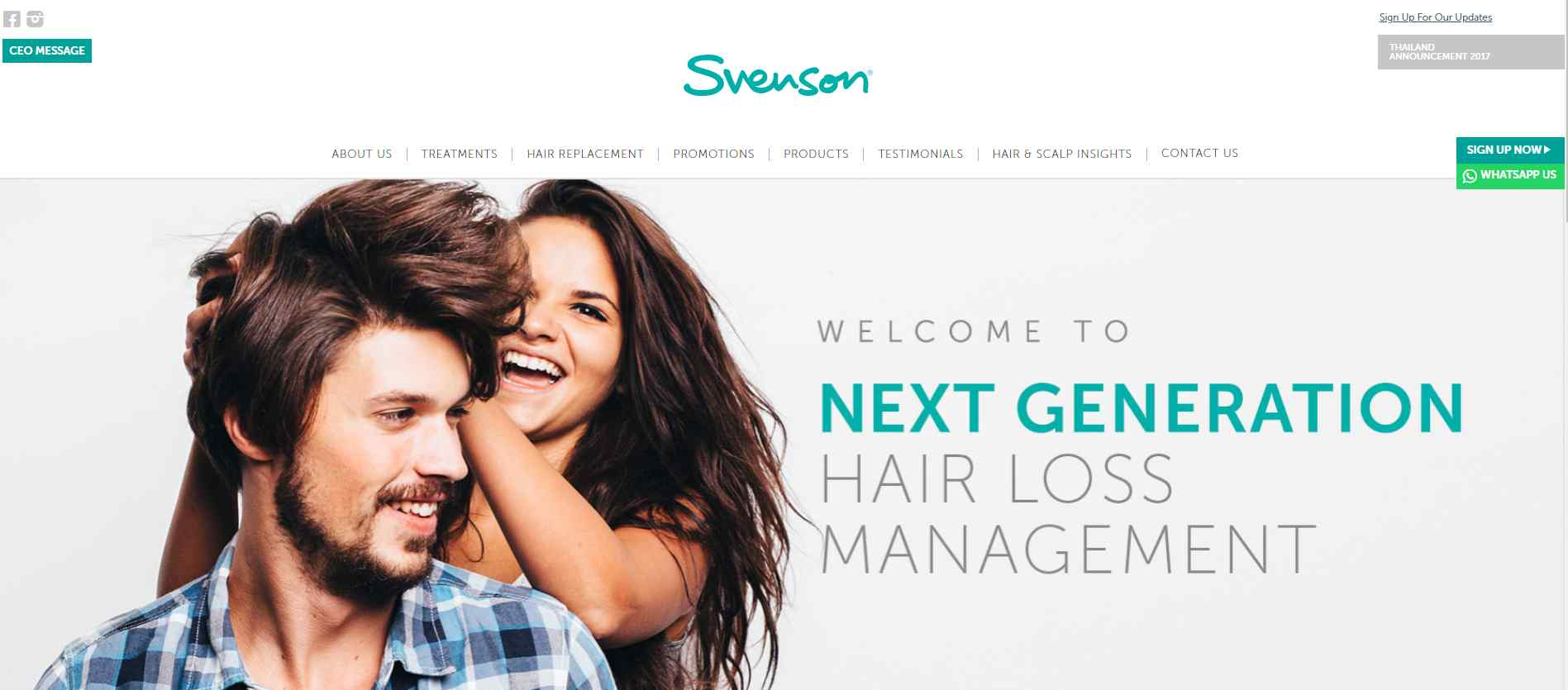 svenson hair Top Trichologists in Singapore