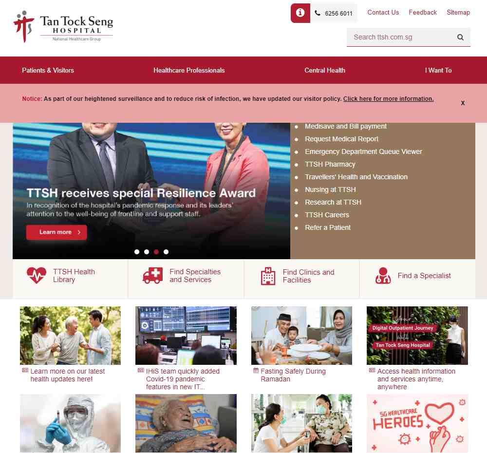 tan tock seng Top Gerontologists in Singapore