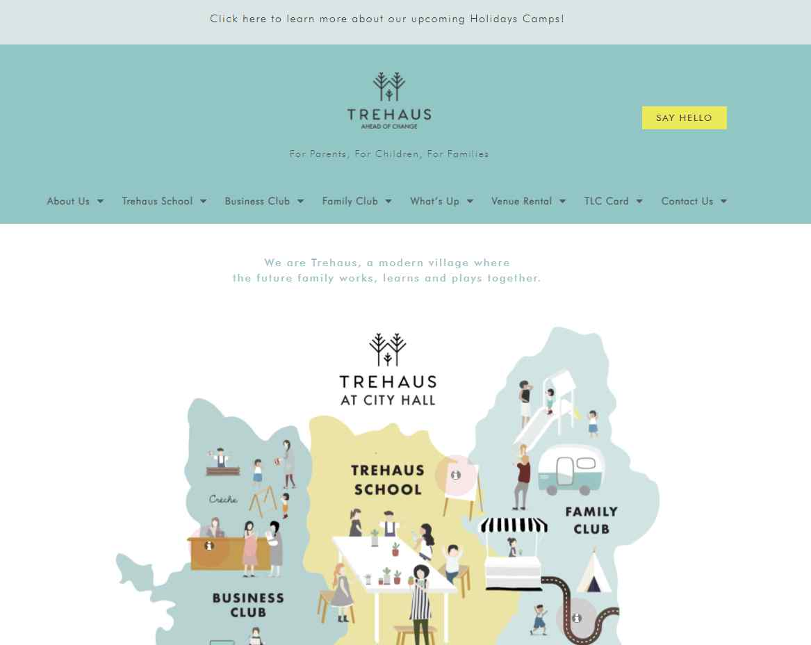 trehaus Top Co-working Space Providers in Singapore