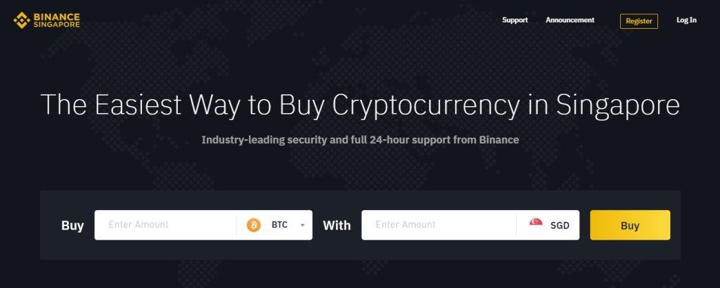 Binance Top Bitcoin Websites in Singapore