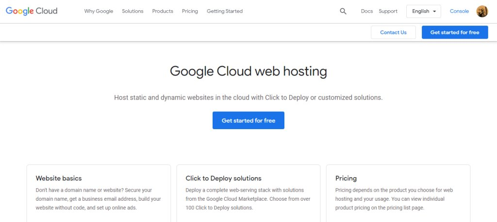 ClouD Google Top Web Hosting Service Providers in Singapore