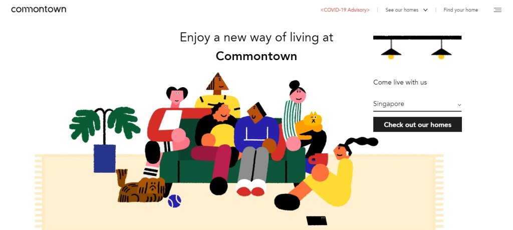 Commontown Top Room Rental Services in Singapore