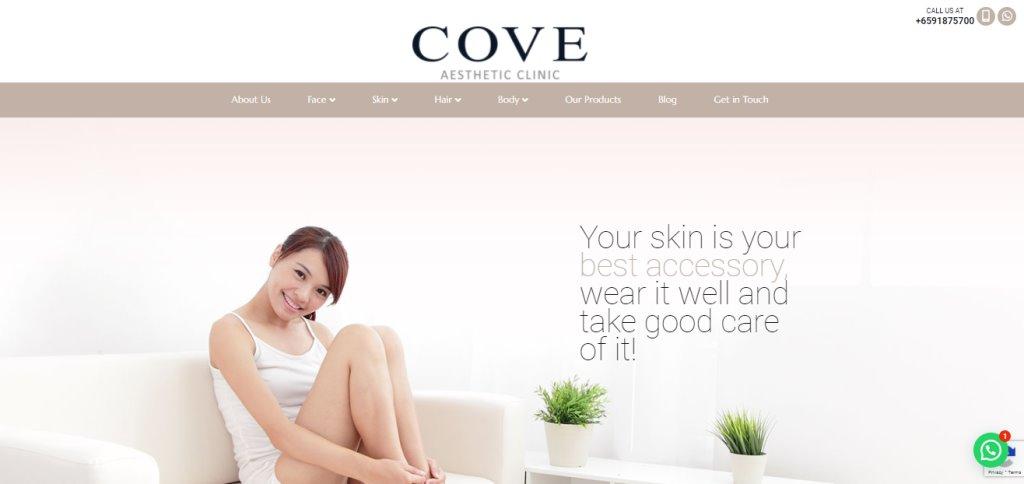 Cove Top Botox Clinics in Singapore