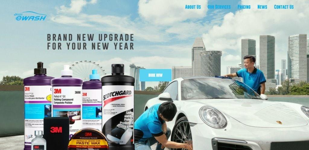 EWash Top Car Wash Services in Singapore