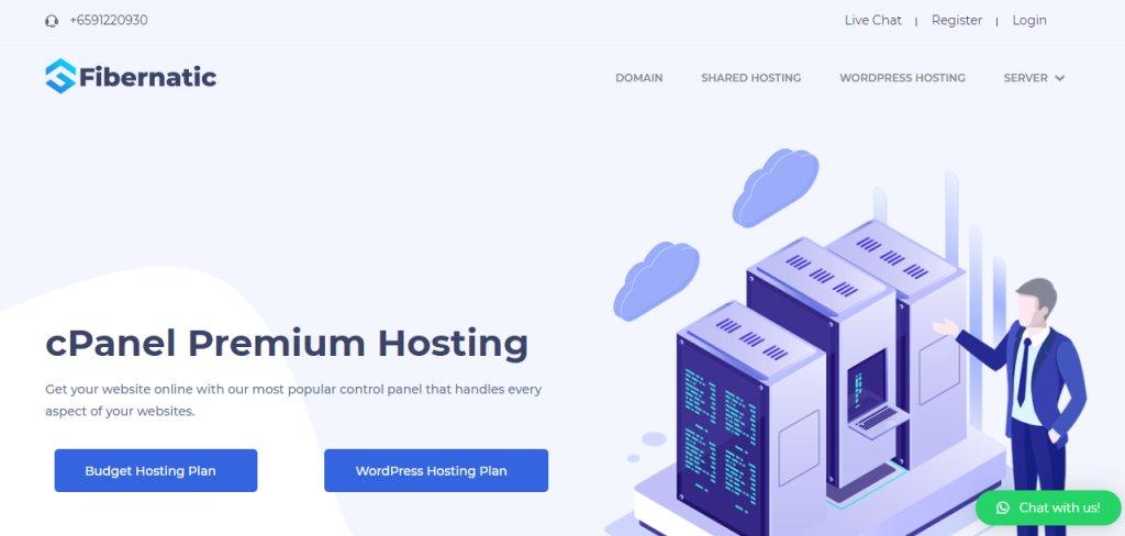Fibernatic Top Web Hosting Service Providers in Singapore