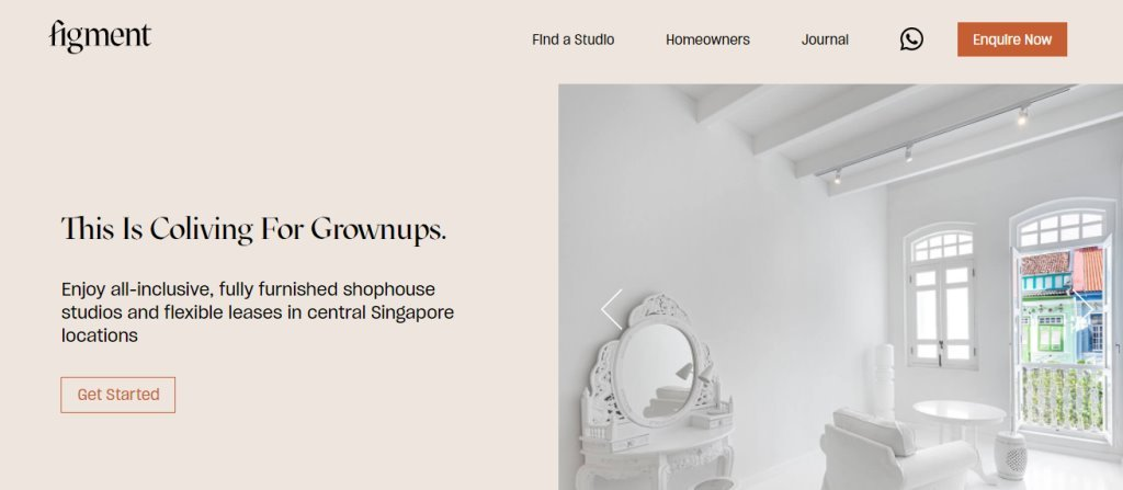 Figment Top Room Rental Services in Singapore