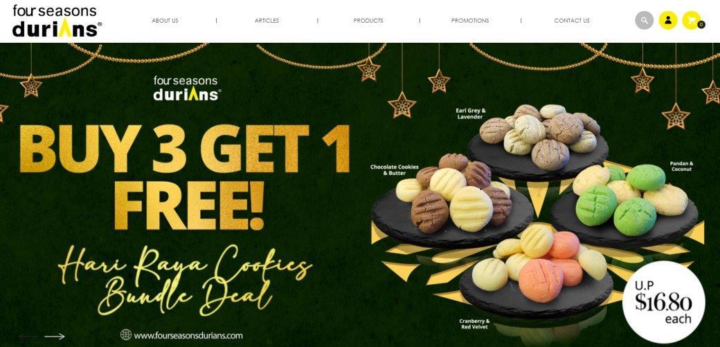 Four Seasons Top Dessert Stores in Singapore