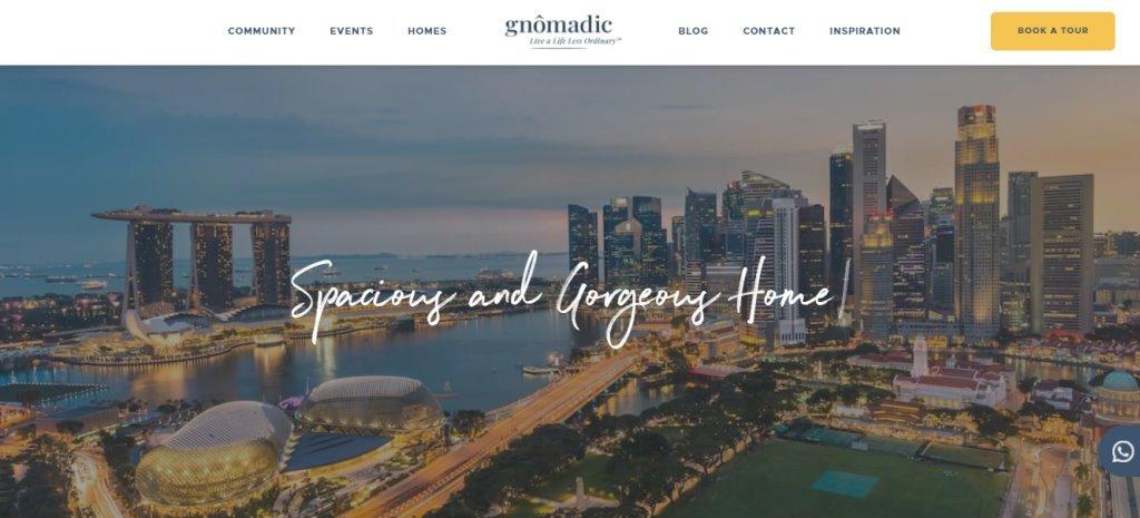 Gnomadic Top Coliving Space Operators in Singapore