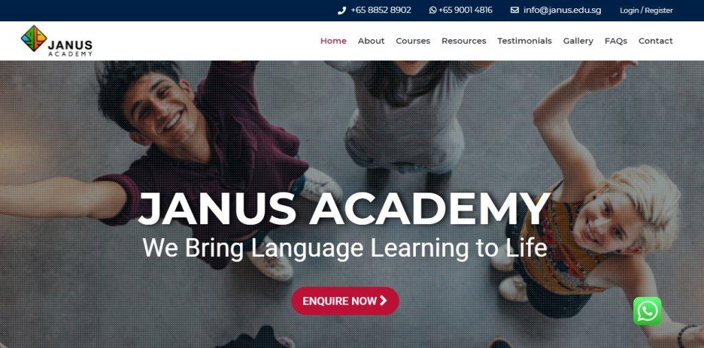 Janus Top Tamil Tuition Centres in Singapore
