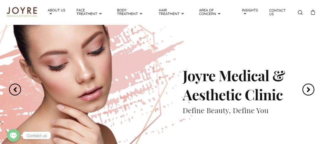 Joyre Medical Top Botox Clinics in Singapore