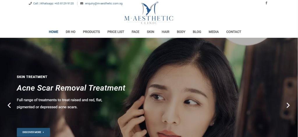 M Aesthetic Top Botox Clinics in Singapore