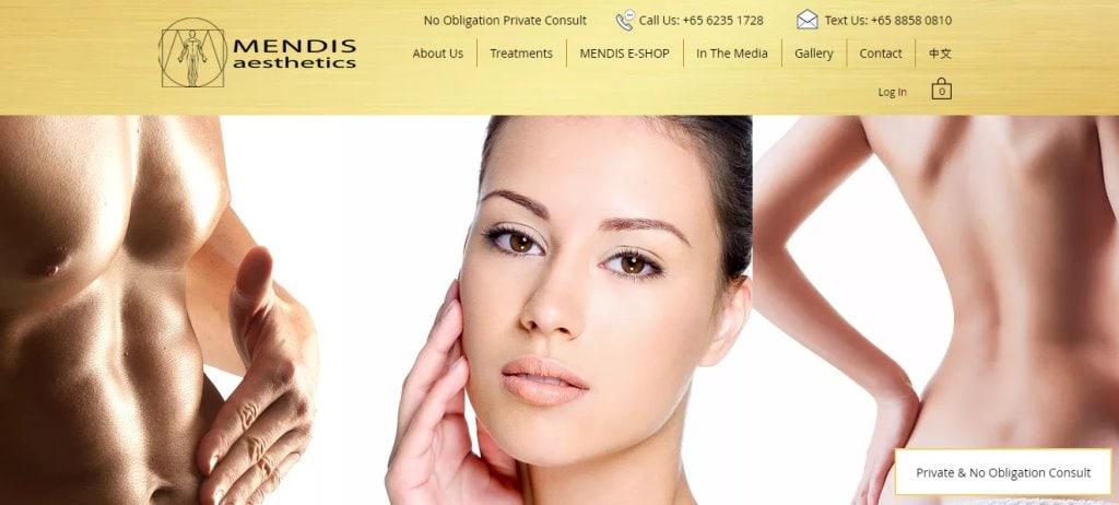 Mendis Top Botox Clinics in Singapore
