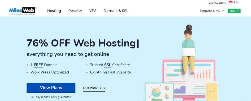 Miles Web Top Web Hosting Service Providers in Singapore