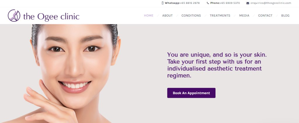 Ogee Clinic Top Botox Clinics in Singapore