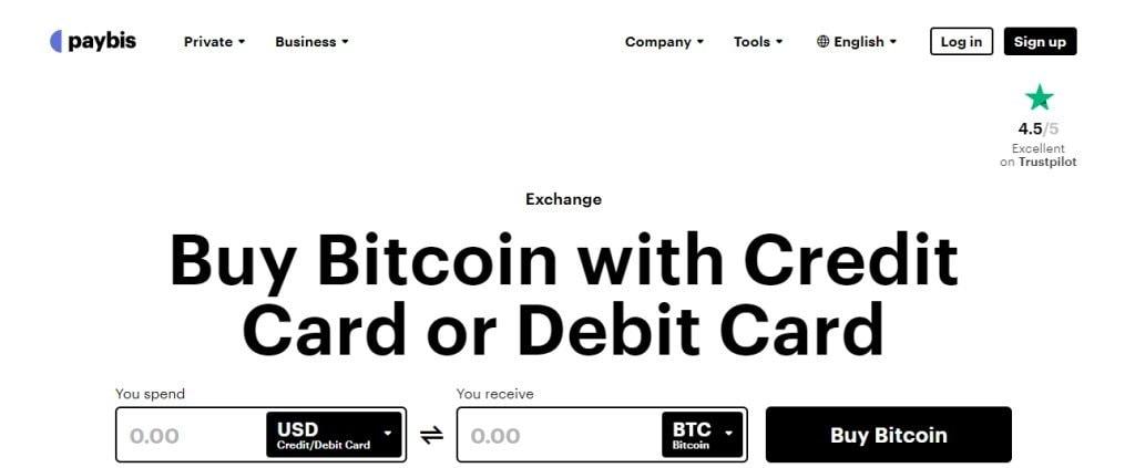 Paybis Top Bitcoin Websites in Singapore