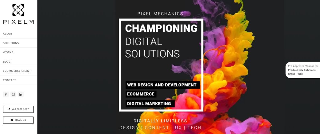 Pixel M Top Data Visualization Services in Singapore