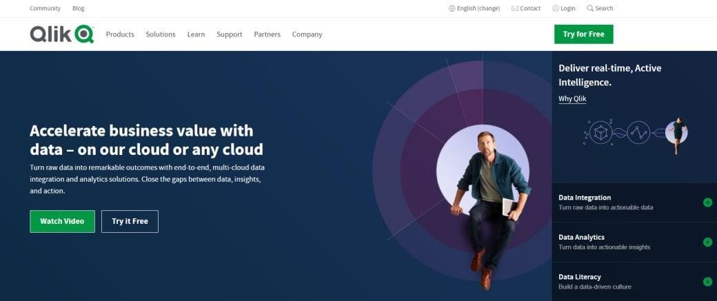 Qlik Top Data Visualization Services in Singapore