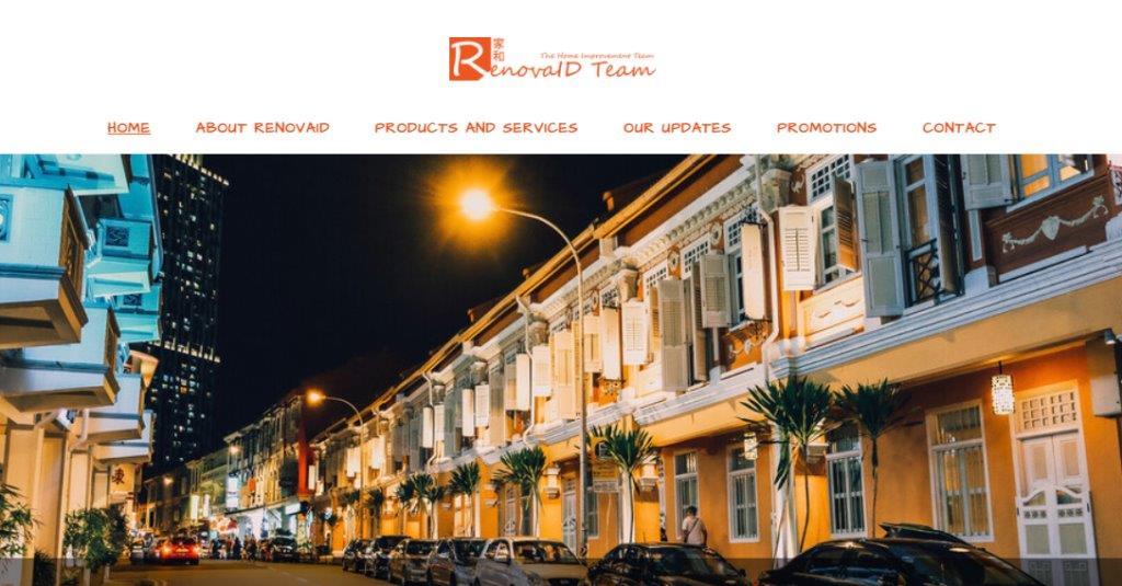 Renovaid Top Window Grill Providers in Singapore