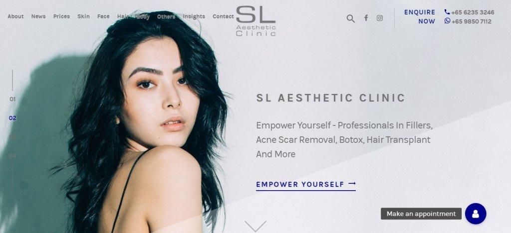 SL Aesthetic Top Botox Clinics in Singapore
