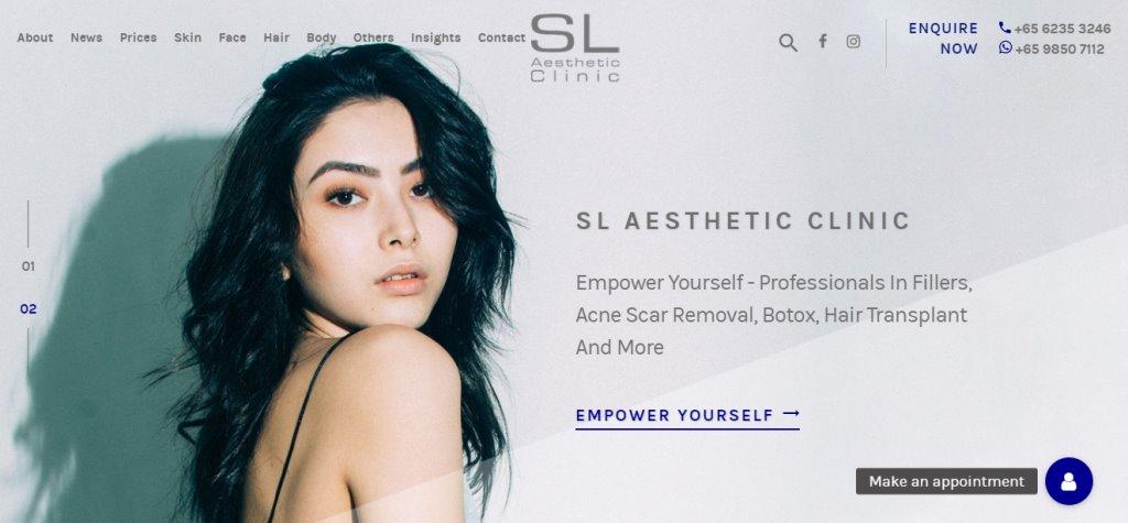 SL Aesthetics Top Botox Clinics in Singapore