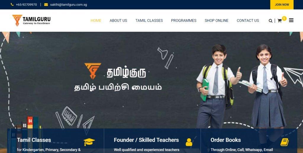 Tamil Guru Top Tamil Tuition Centres in Singapore