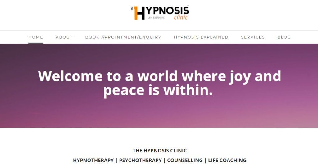 The Hypnosis Clinic Top Hypnotherapy in Singapore