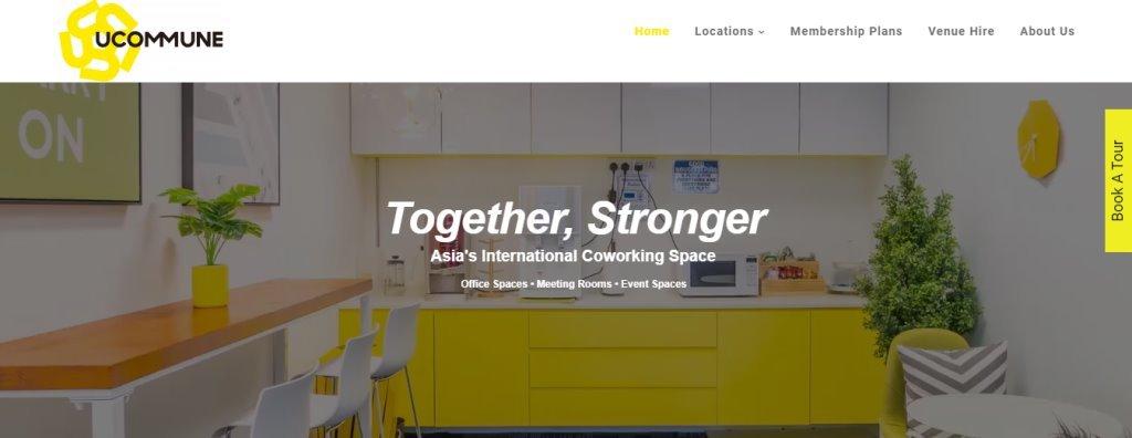 U Commune Top Coliving Space Operators in Singapore