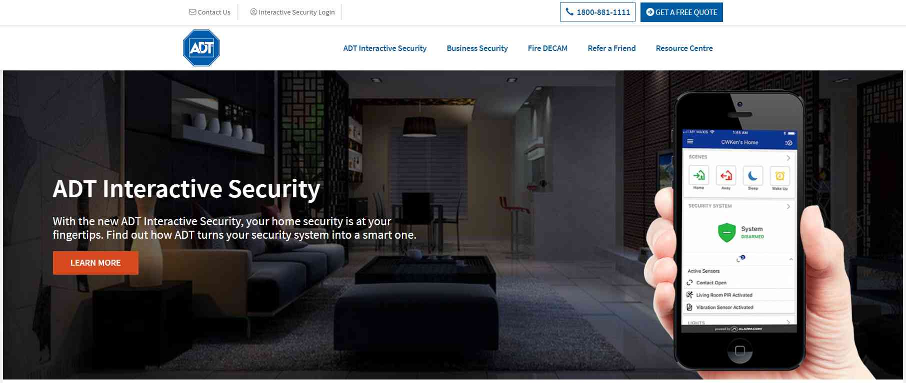 adt Top Home Security Systems in Singapore
