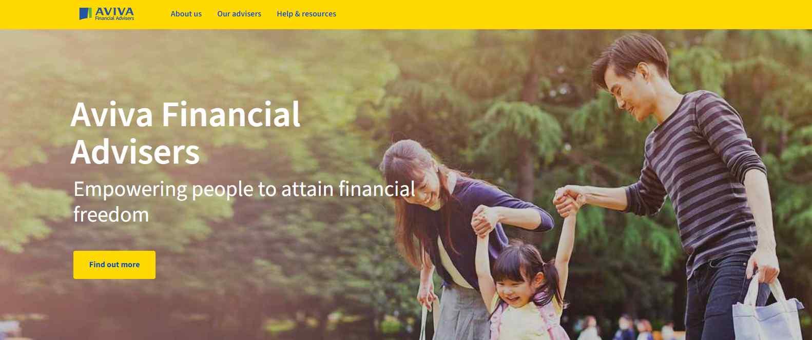aviva Top Financial Advisors in Singapore
