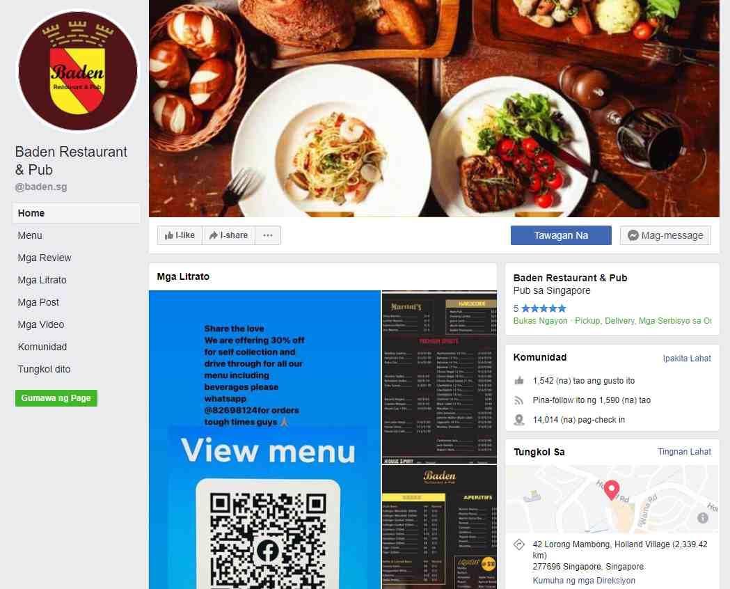 baden Top German Restaurants in Singapore