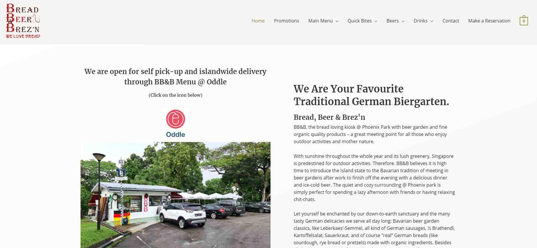 bbnb Top German Restaurants in Singapore