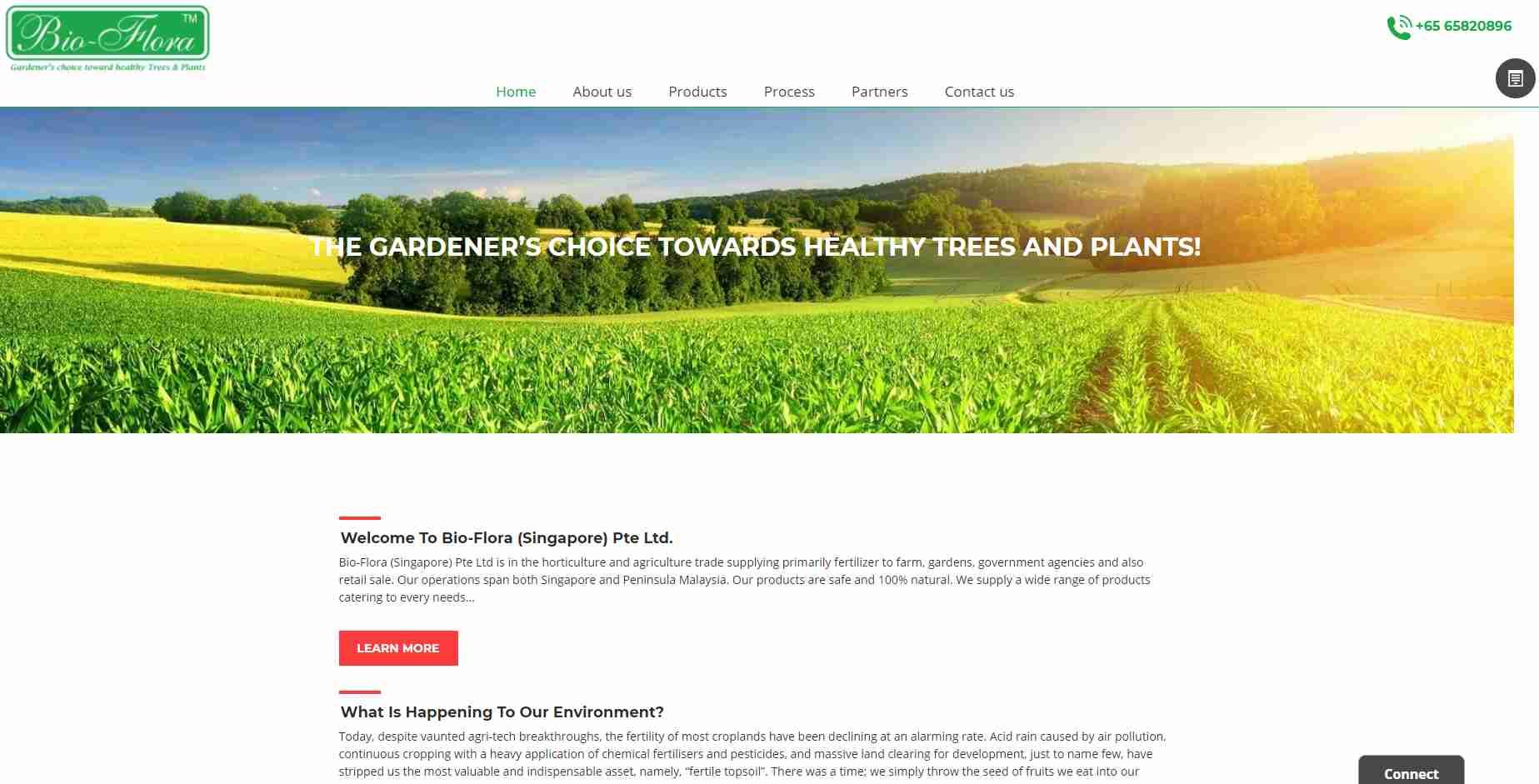 bio flora Top Horticulture Services in Singapore