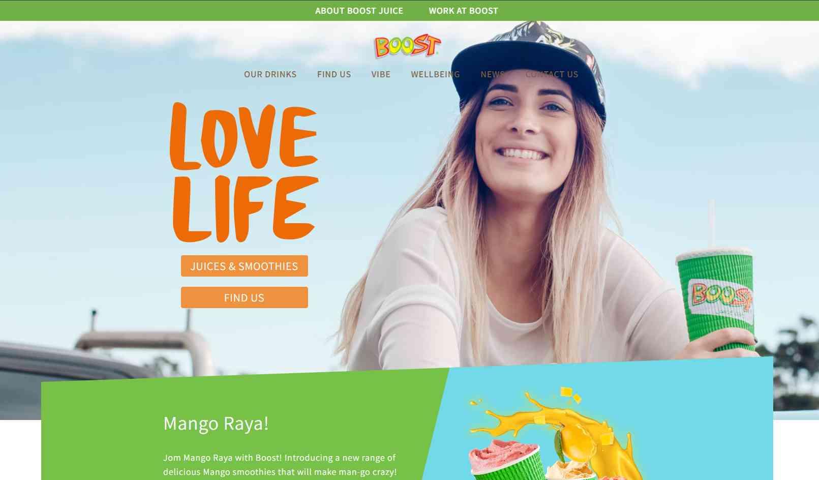 boost juice bars Top Juice Retailers in Singapore