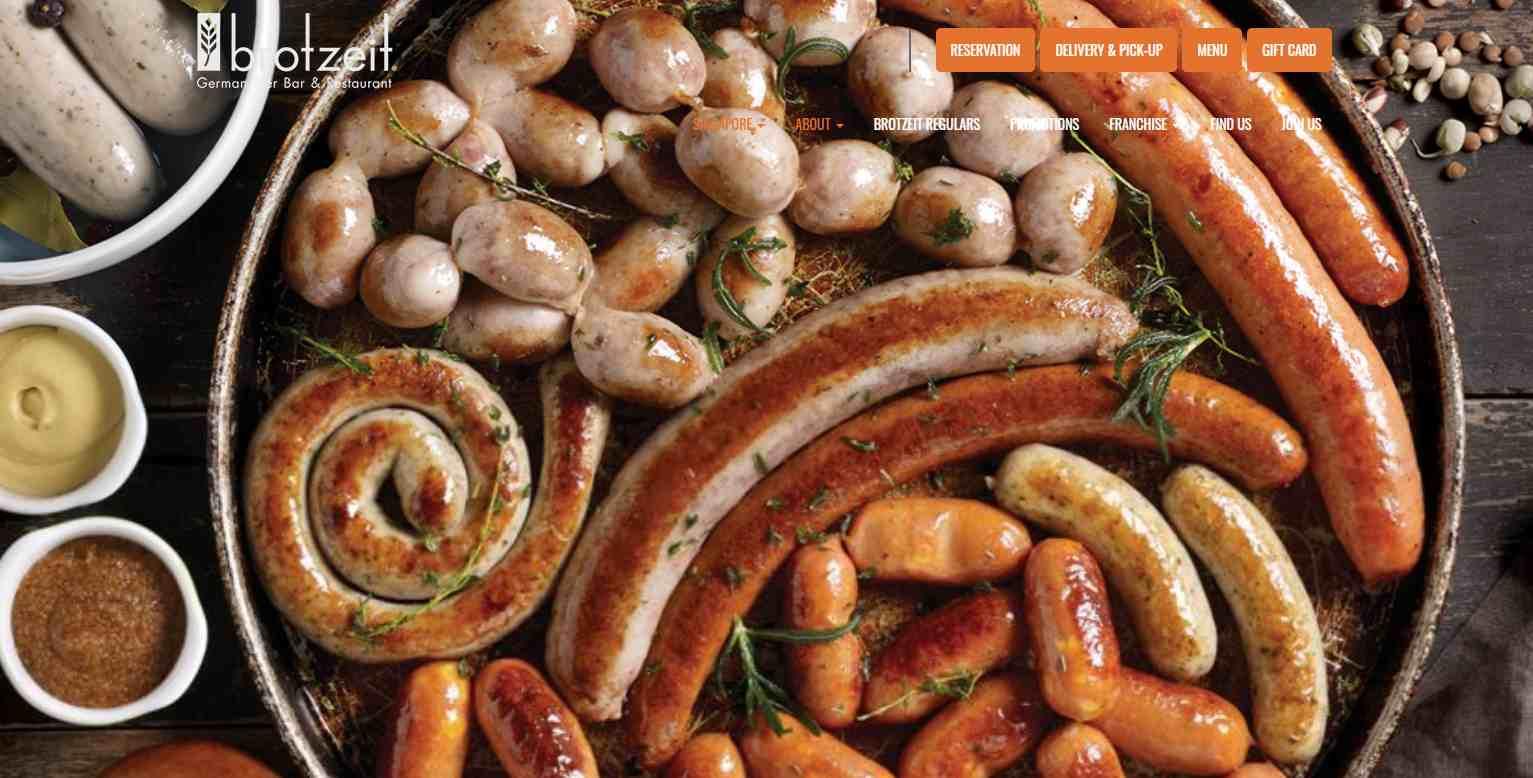 brot zeit Top German Restaurants in Singapore