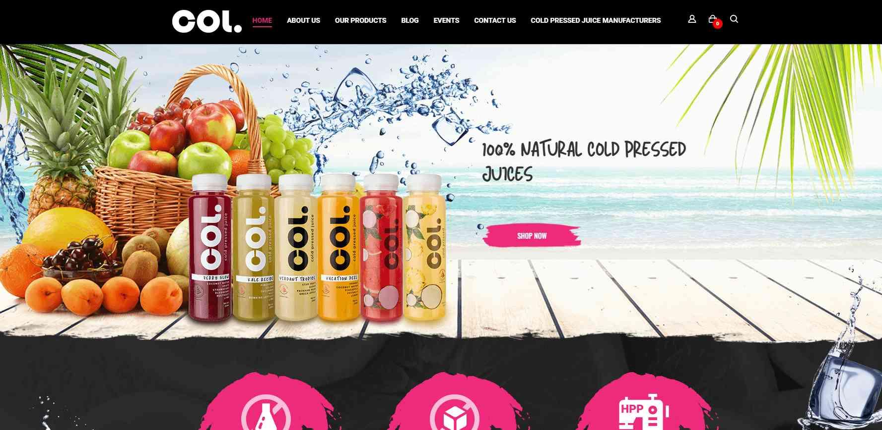 col juice Top Juice Retailers in Singapore